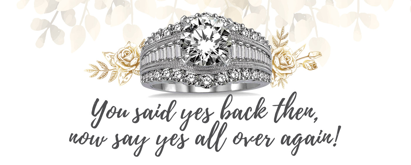 You said yes back then, now say yes all over again!